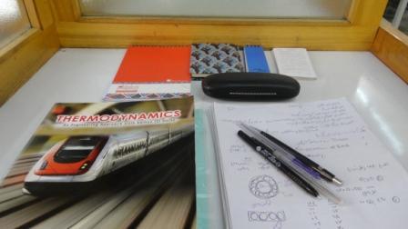 از این روزهای دانشگاه- مهرماه1390-کتابخانه ی دانشکده متالورژی