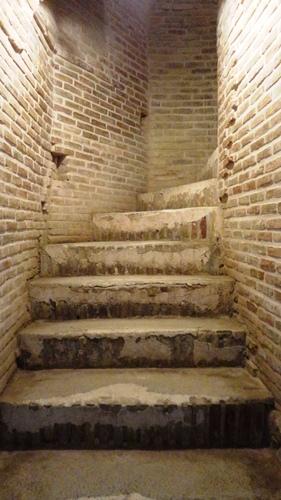 راه پله های گنبد سلطانیه