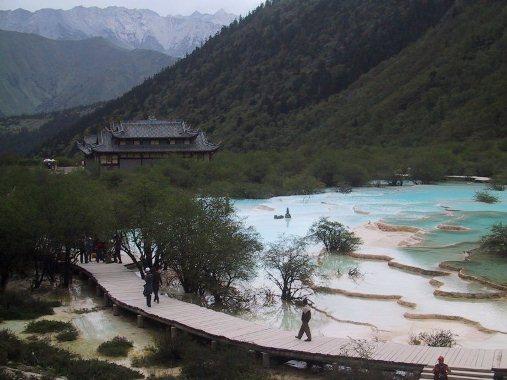 چشمه های هانگ لونگ در چین