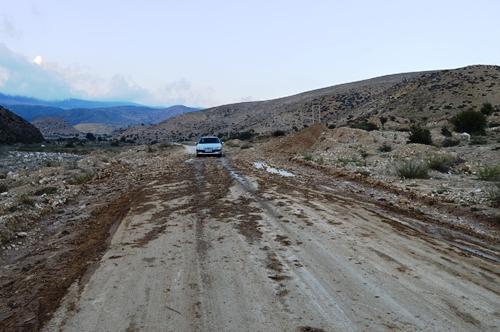 جاده ی اروست به تلمادره