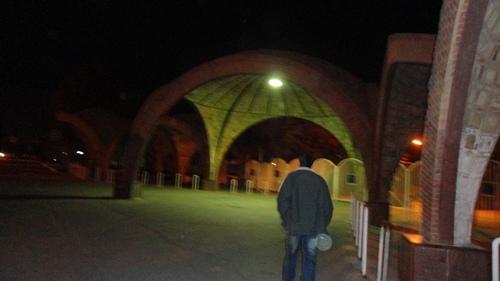 سردر دانشکده ی فنی مهندسی دانشگاه باهنر کرمان