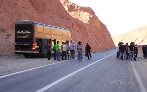 اتوبوس خراب